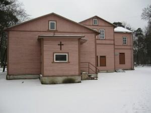 Koguduse maja talvel